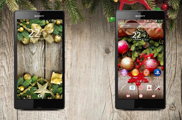 Xperia New Year Theme