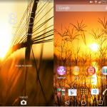 Check out Xperia Sunset Theme – 2 set of themes