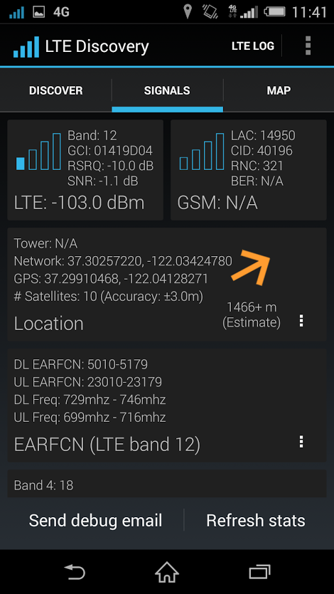 Xperia Z3 12 LTE Band T-Mobile