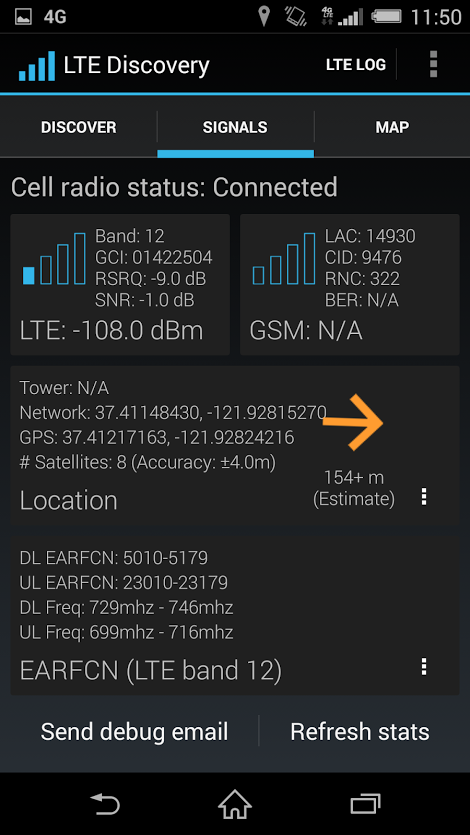 700MHz T-Mobile Xperia Z3 update
