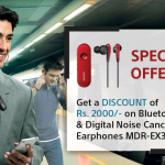 Sony is giving Rs 2000 discount on MDR-EX31BN DNC Bluetooth Headphones in India