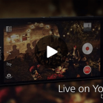 Live on YouTube by Xperia app 01.00.47 version update supports Android Lollipop