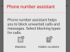 Phone Number Assistant Xperia Z3 Apps