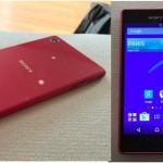 Red Xperia M4 Aqua, Xperia Z4 Tablet First Look pics leaked