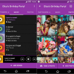 Sony Party Share 01.01.00 app updated with Material Design UI