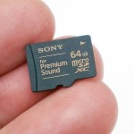 Sony SR-64HXA 64 GB microSDXC card insanely priced at $155