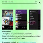 Sony Walkman 8.5.A.2.8 update rolling – Bug Fixing