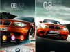 Xperia BMW Auto Orange Theme