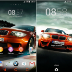 Install Xperia Chelsea FC & BMW Auto Orange Theme