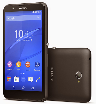 Xperia E4 in Black