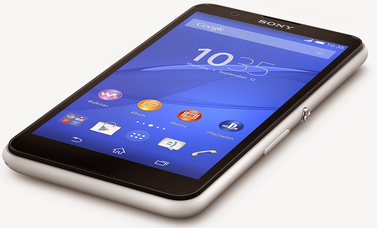 Xperia E4 in white