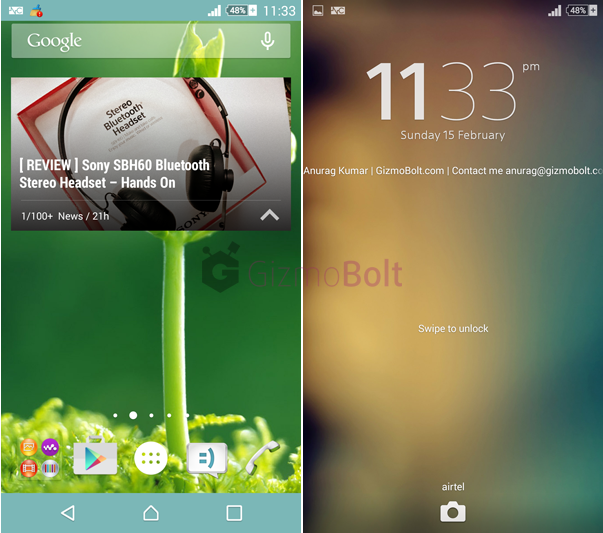 Xperia Halla Green Theme