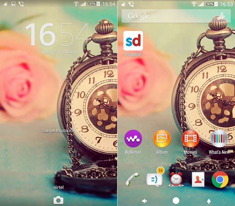 Xperia Rose Theme