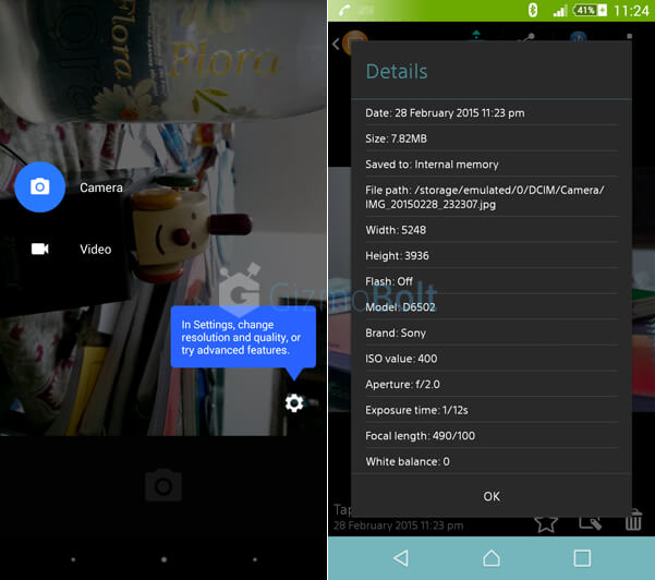 Android 5.0 Lollipop Camera apk