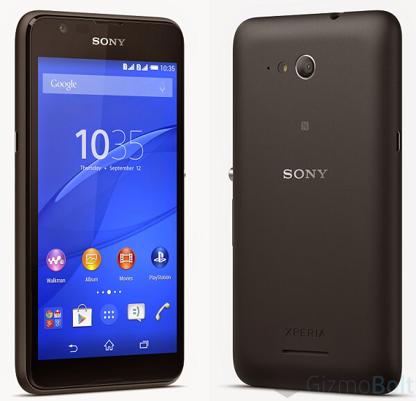 Xperia E4g in Black