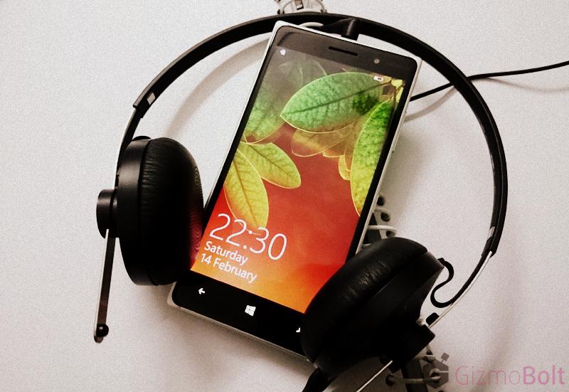 Sony SBH60 Headset with Lumia 830