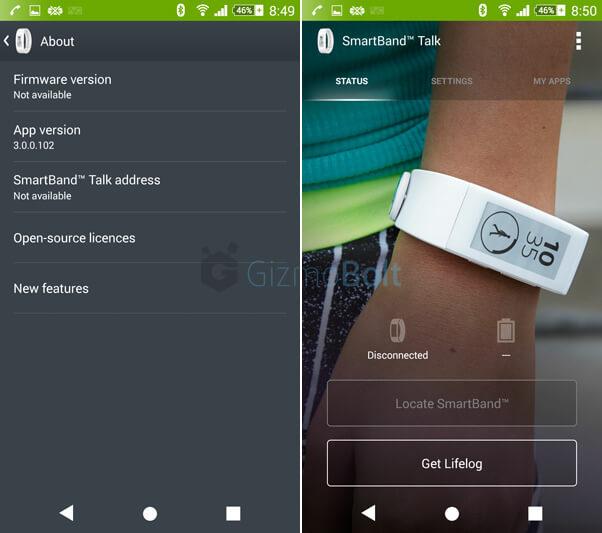 SmartBand Talk SWR30 3.0.0.102 update
