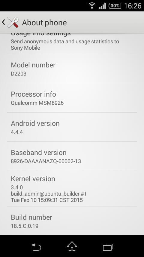 18.5.C.0.19 firmware update