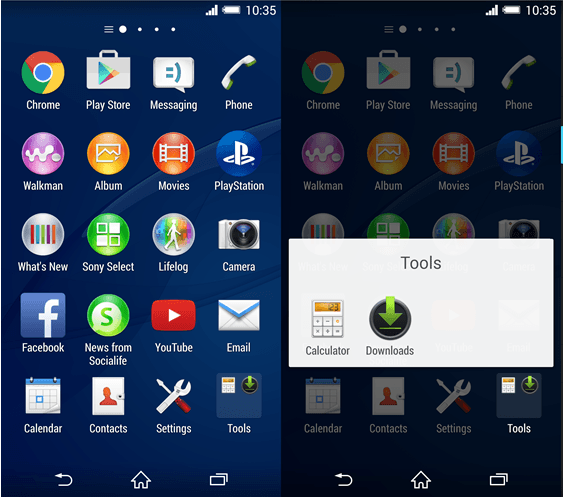 Download Xperia Home 7.0.A.1.12