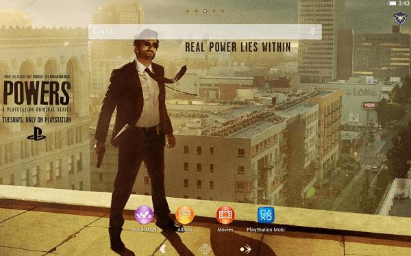 Download Xperia Powers theme