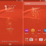 Install Xperia Z3 Lollipop Live Wallpaper with new lock screen effect