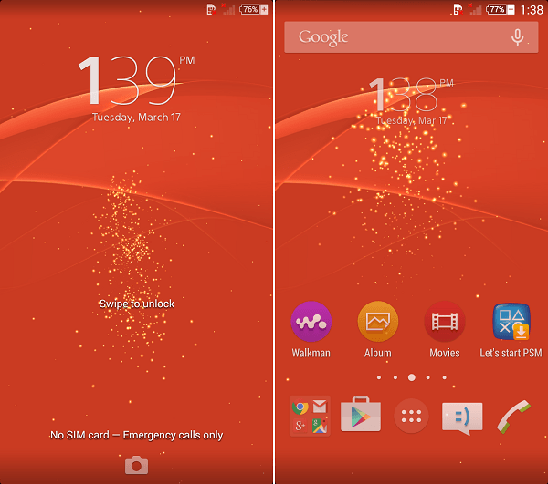 Download Xperia Z3 LiveWallpaper Lollipop