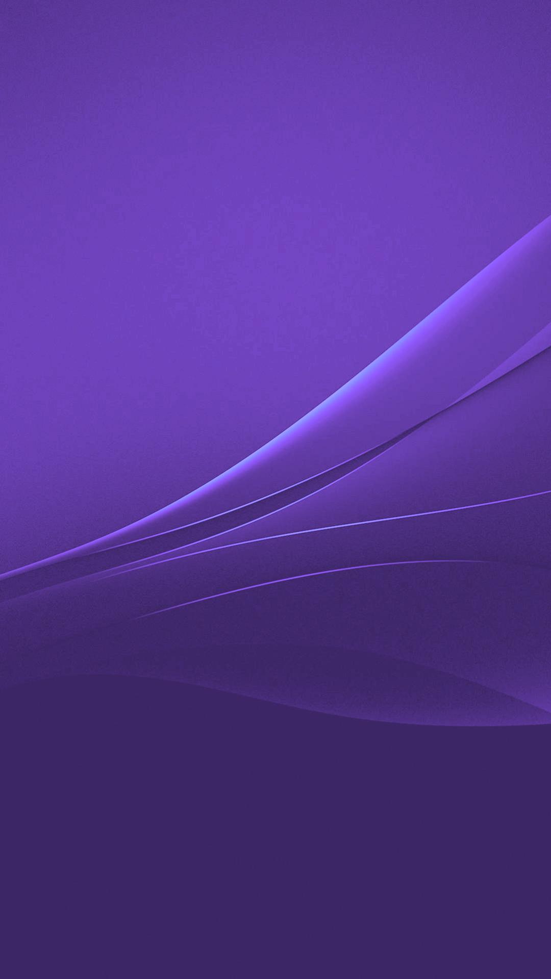 Purple Xperia Lollipop Experience Flow