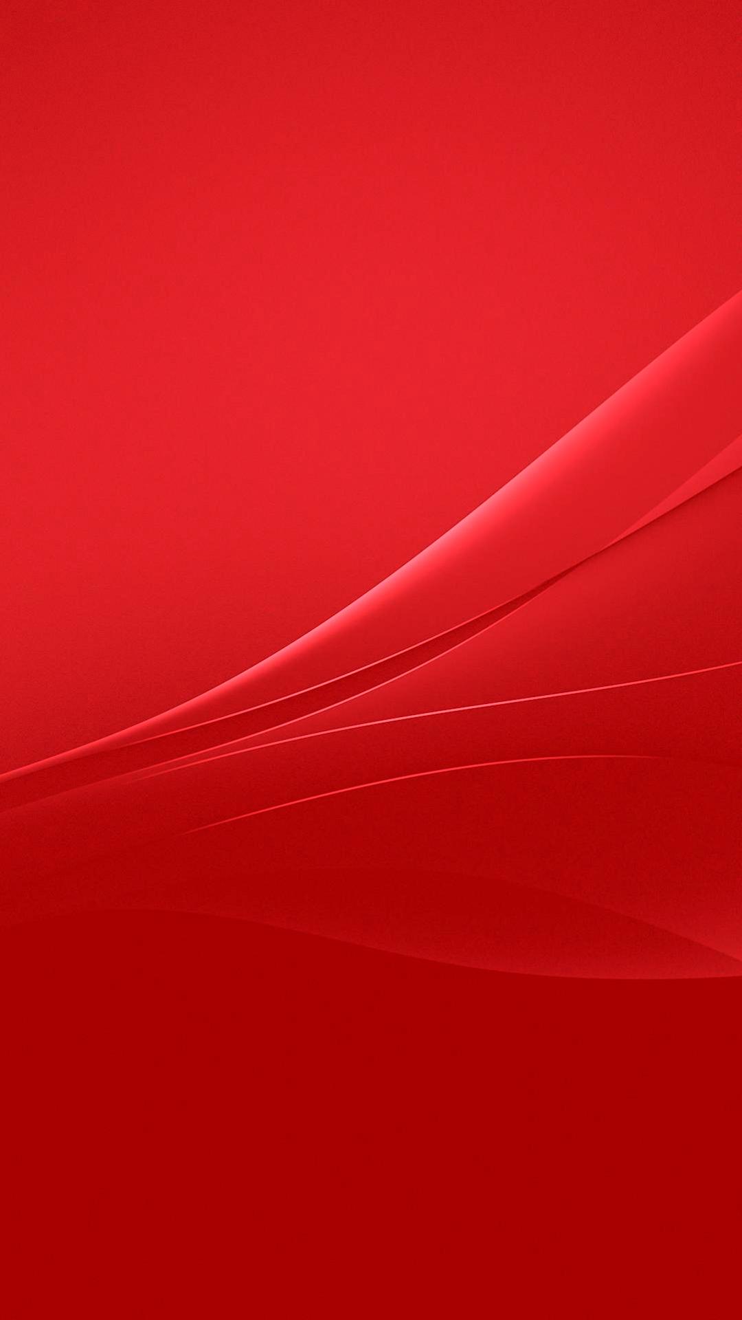 Hd wallpaper xperia z3 - Red Xperia Lollipop Experience Flow Wallpaper