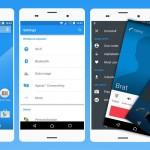 Install Xperia Aurora Blue & Green Material Design Themes