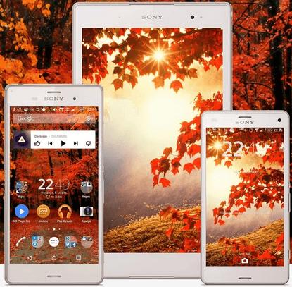 Xperia Autumn Theme