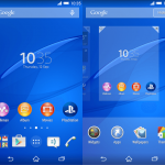 Install latest Xperia Home 7.0.A.1.12 version