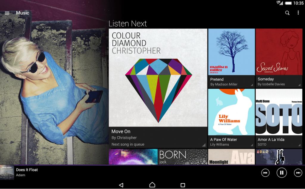 Xperia Music 5.0.A.0.10 App