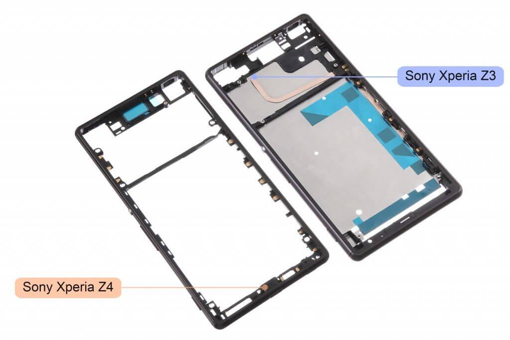 Xperia Z4 frame leaks