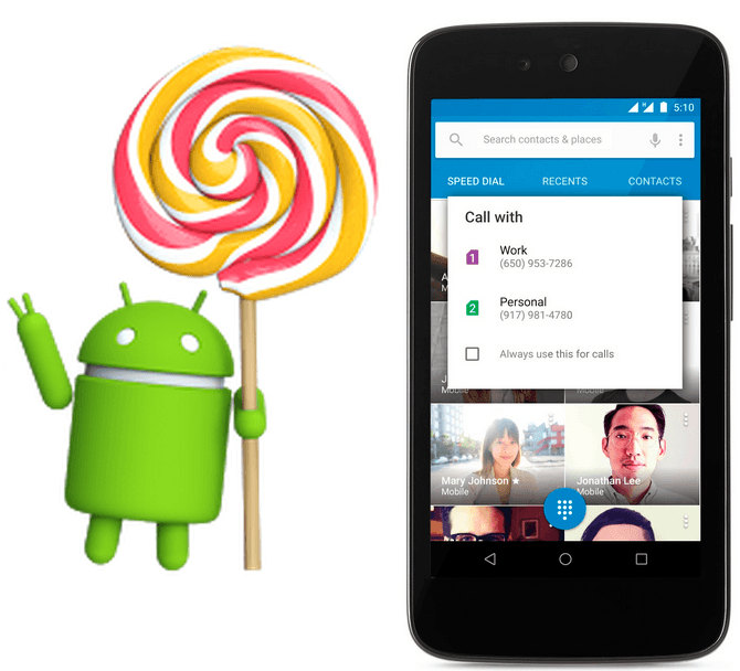 Xperia phones getting Android 5.1 Lollipop update