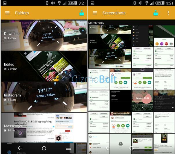 Album 7.0.A.0.24 app - Material Design UI