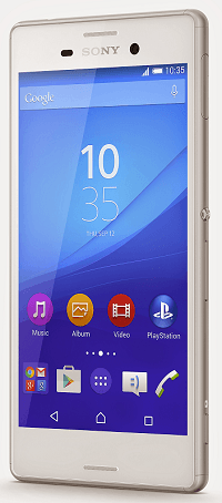 Xperia M4 Aqua Android Lollipop