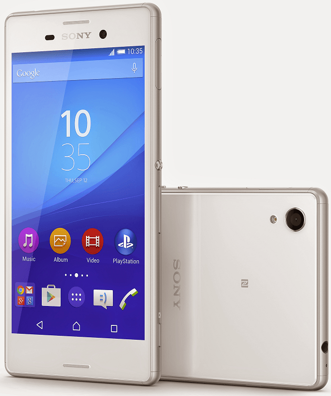 Xperia M4 Aqua in White