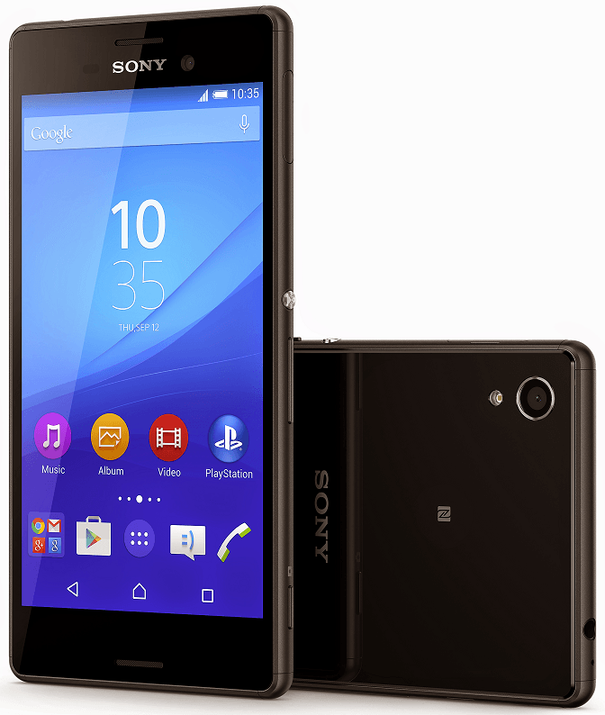 Xperia M4 Aqua in Black