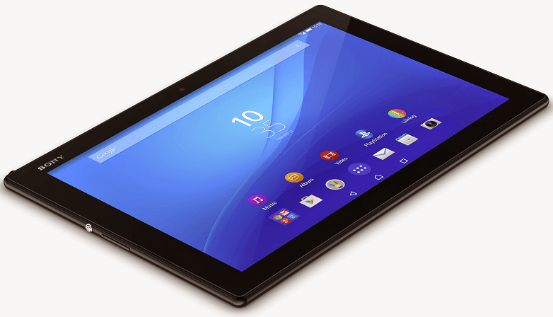 "Xperia Z4 Tablet 10.1"" screen"