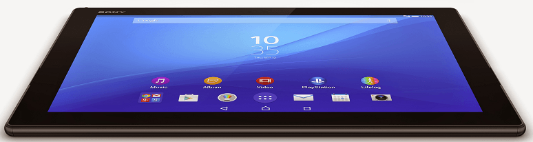 Xperia Z4 Tablet in Black