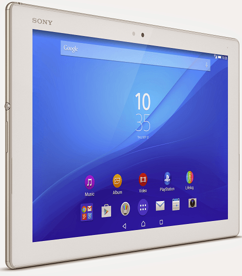 Xperia Z4 Tablet in White