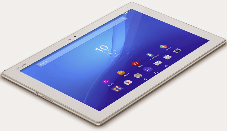 White Xperia Z4 Tablet LTE