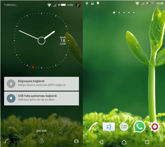 Xperia Halla Lollipop+ Theme