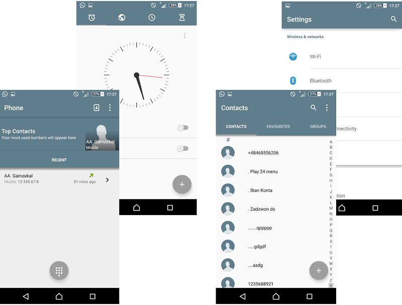 Grey Material Design Xperia Themes