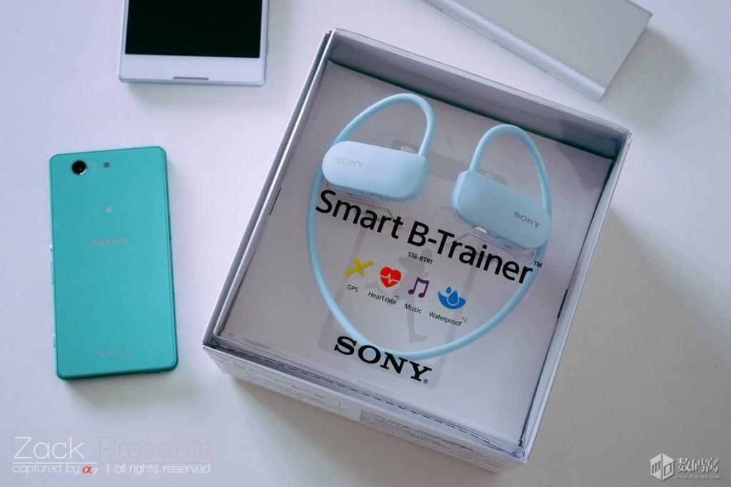 Sony Smart B-Trainer Out of the box