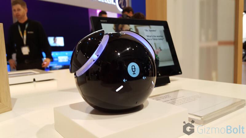 Sony BSP60 speaker Voice Control app