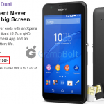 Xperia E4 Dual SIM launched for Rs 12190 in India