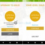 "Have you upgraded to Xperia Lounge ""Gold"" – Sony gives free premium Xperia themes to Gold users"