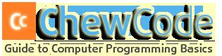 Chew Code - Guide for Programming Tutorials