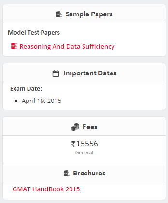 CollegeDunia GMAT Sample papers